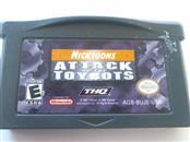 GAMEBOY ADVANCE ATTACK OF THE TOYBOTS